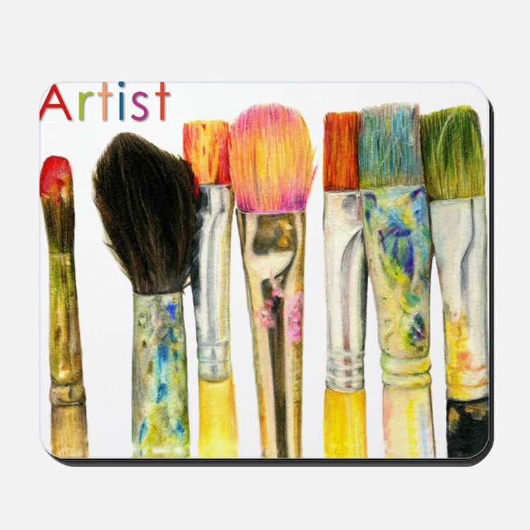 artist-paint-brushes-02 Mousepad