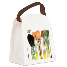 artist-paint-brushes-02 Canvas Lunch Bag