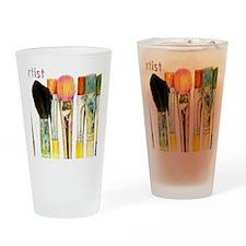 artist-paint-brushes-02 Drinking Glass