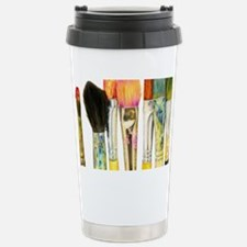 artist-paint-brushes-02 Stainless Steel Travel Mug