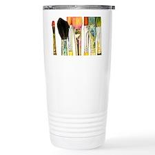 artist-paint-brushes-02 Travel Mug