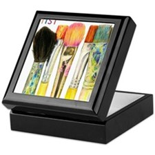 artist-paint-brushes-02 Keepsake Box