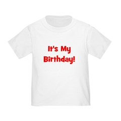 It's My Birthday! Red T