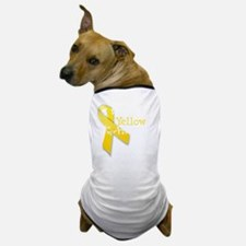 trans_i_wear_yellow_for_my_aunt Dog T-Shirt