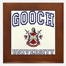 GOOCH University Framed Tile