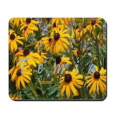 temia-yellow flowerp2 Mousepad
