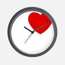 I_Love_XVI_Dark Wall Clock