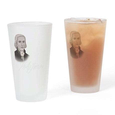 Tyranny for dark Drinking Glass