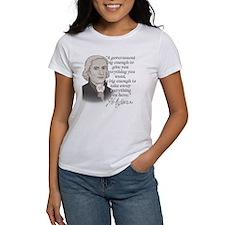 Jefferson Quote for dark Tee