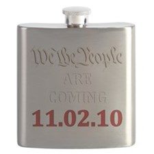 We the People2010 dark Flask