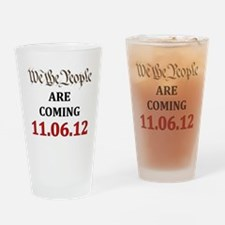 We the People2012 light Drinking Glass