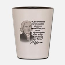 Jefferson Quote for light Shot Glass