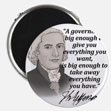 Jefferson Quote for light Magnet