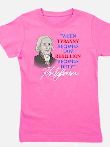 Tyranny for dark2 Girl's Tee
