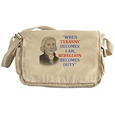 Tyranny for dark2 Messenger Bag