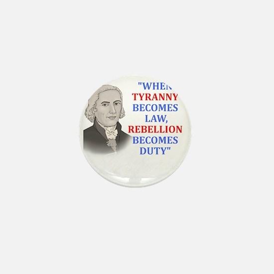 Tyranny for dark2 Mini Button