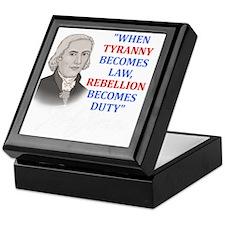 Tyranny for dark2 Keepsake Box