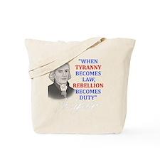Tyranny for dark2 Tote Bag