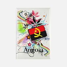 flowerAngola1 Rectangle Magnet