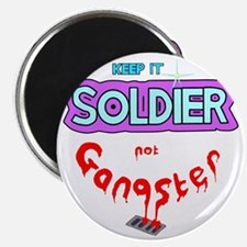 keepitsoldierglow Magnet