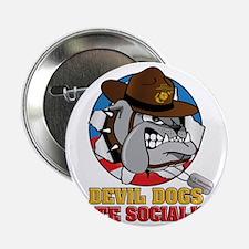 """M-201-D_DevilDogHateSocialism 2.25"""" Button"""