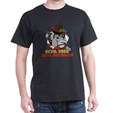 M-201-L_DevilDogHateSocialism T-Shirt