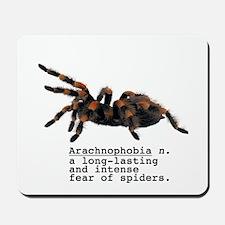 Arachnophobia Mousepad
