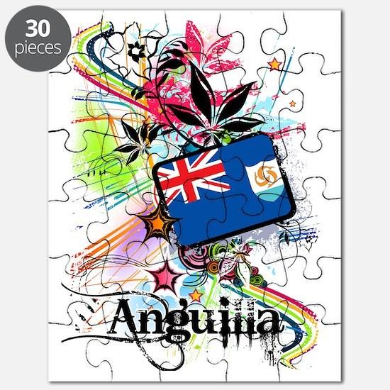 flowerAnguilla1 Puzzle