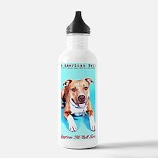 Pit Bull- An American  Water Bottle