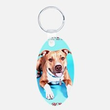 Pit Bull- An American Hero Keychains
