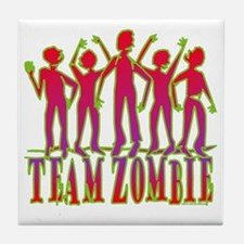 Team Zombie Tile Coaster