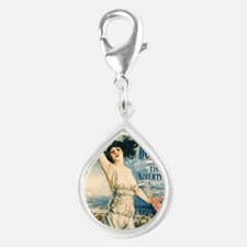 Buy bonds Silver Teardrop Charm