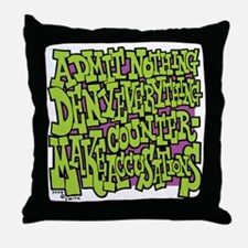 10-BBQ_admit_nothing_deny_everything_ Throw Pillow