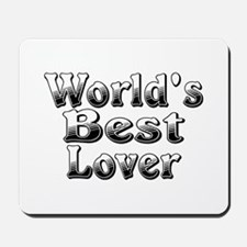 WORLDS BEST Lover Mousepad
