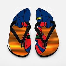 CAPTAIN VALOR IMAGE Flip Flops