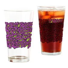 11-BBQ_admit_nothing_deny_everythin Drinking Glass