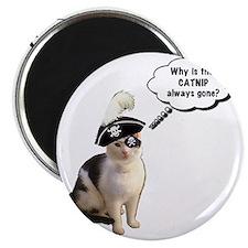 Catnip Always Gone Magnet