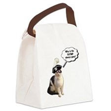 Catnip Always Gone Canvas Lunch Bag