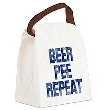 BPR-blue Canvas Lunch Bag