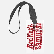 RedNeck_Samurai_vertical3 Luggage Tag