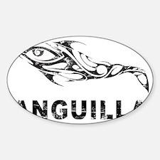 DolphinAnguilla1 Sticker (Oval)