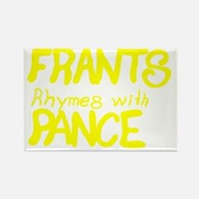 FrantsYellowSBS Rectangle Magnet