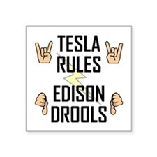 Tesla Rule Sticker