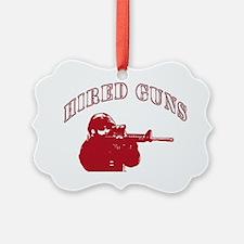 Logo-red Ornament
