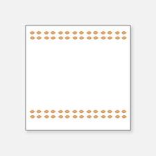 "hotterjb2 Square Sticker 3"" x 3"""
