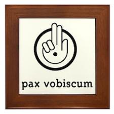 PaxVobiscum_Light Framed Tile