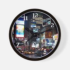clock_tm-sq-night-modern Wall Clock