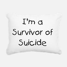 kids_survivor_of_suicide Rectangular Canvas Pillow