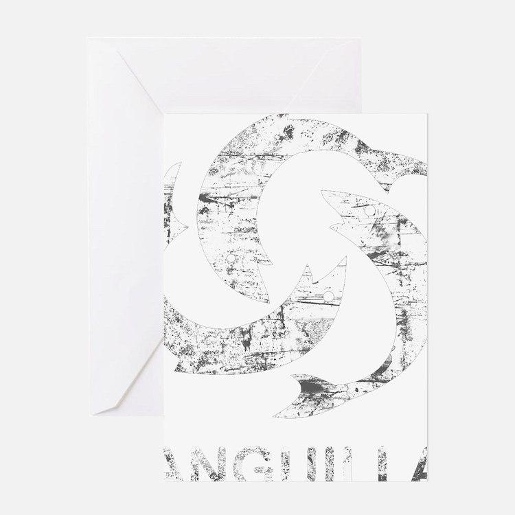 2-angullia2Bk Greeting Card