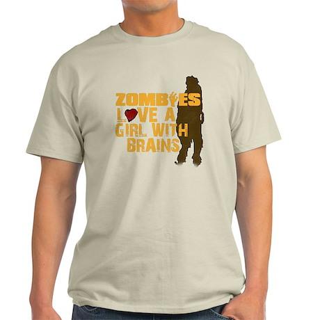 Zombiesloveagirll Light T-Shirt